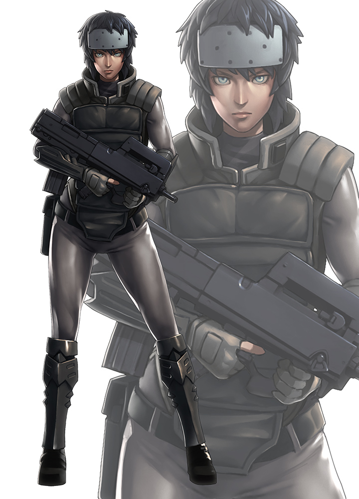 Alfa img - Showing > Major Motoko Kusanagi Full Body