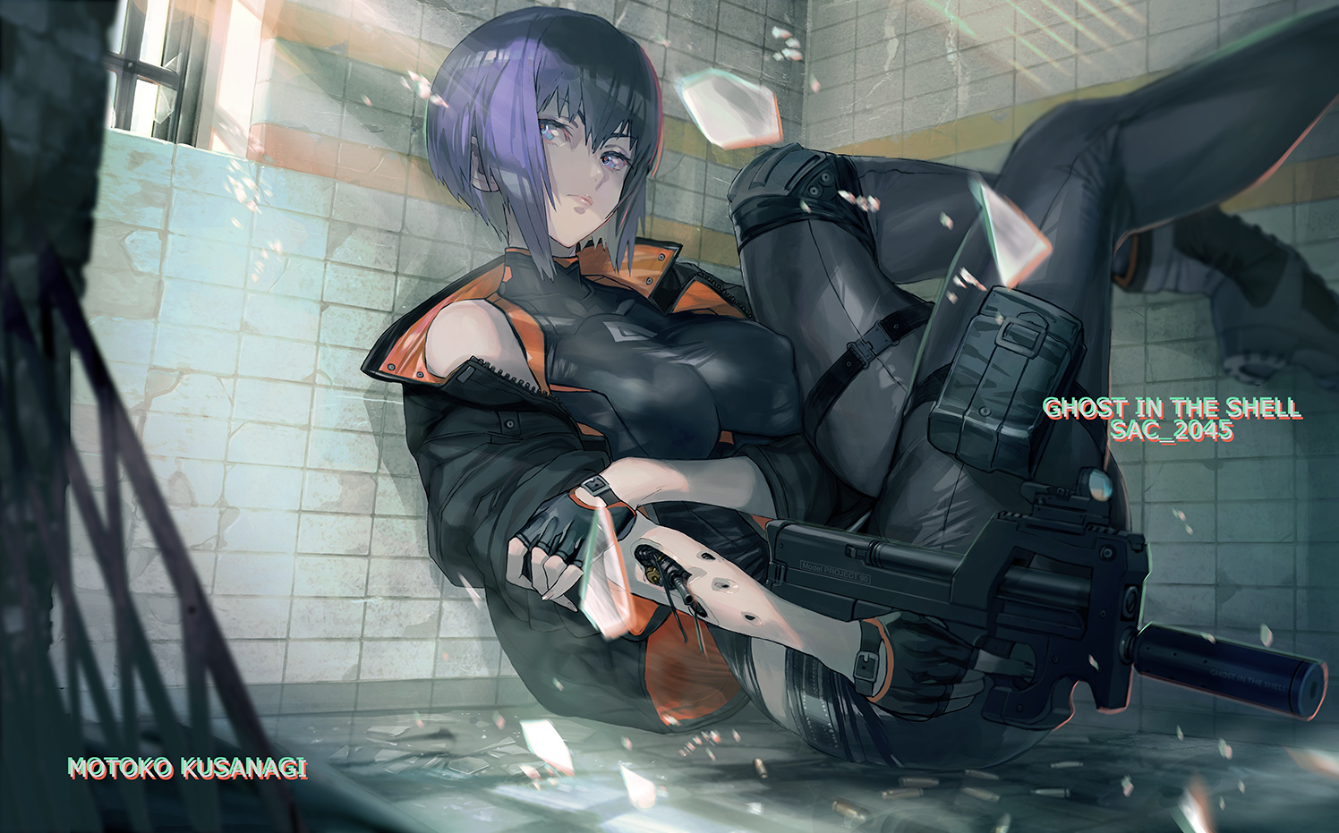 Ghost In The Shell Sac 2045 Zerochan Anime Image Board