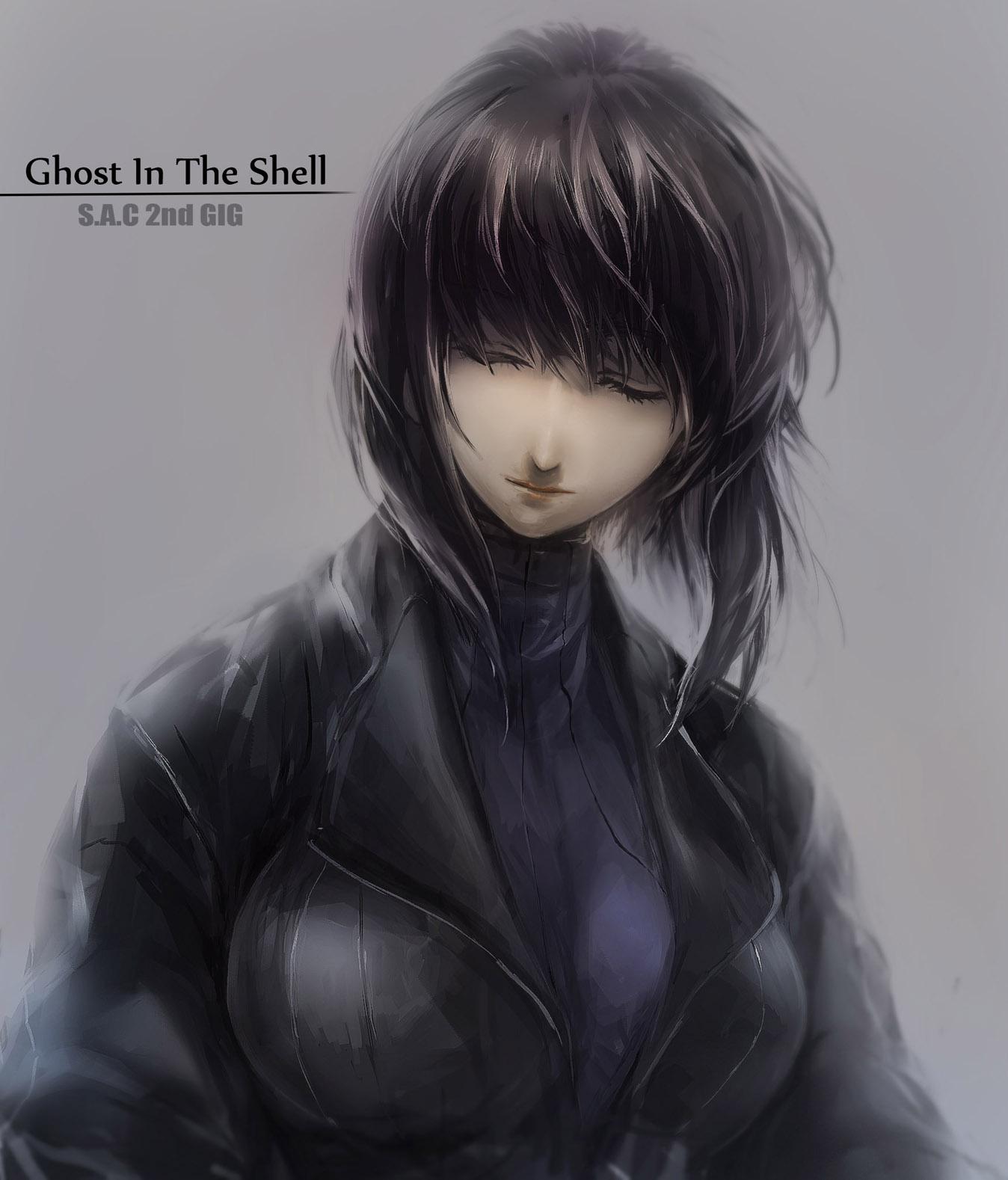 Kusanagi Motoko Koukaku Kidoutai Ghost In The Shell Zerochan Anime Image Board
