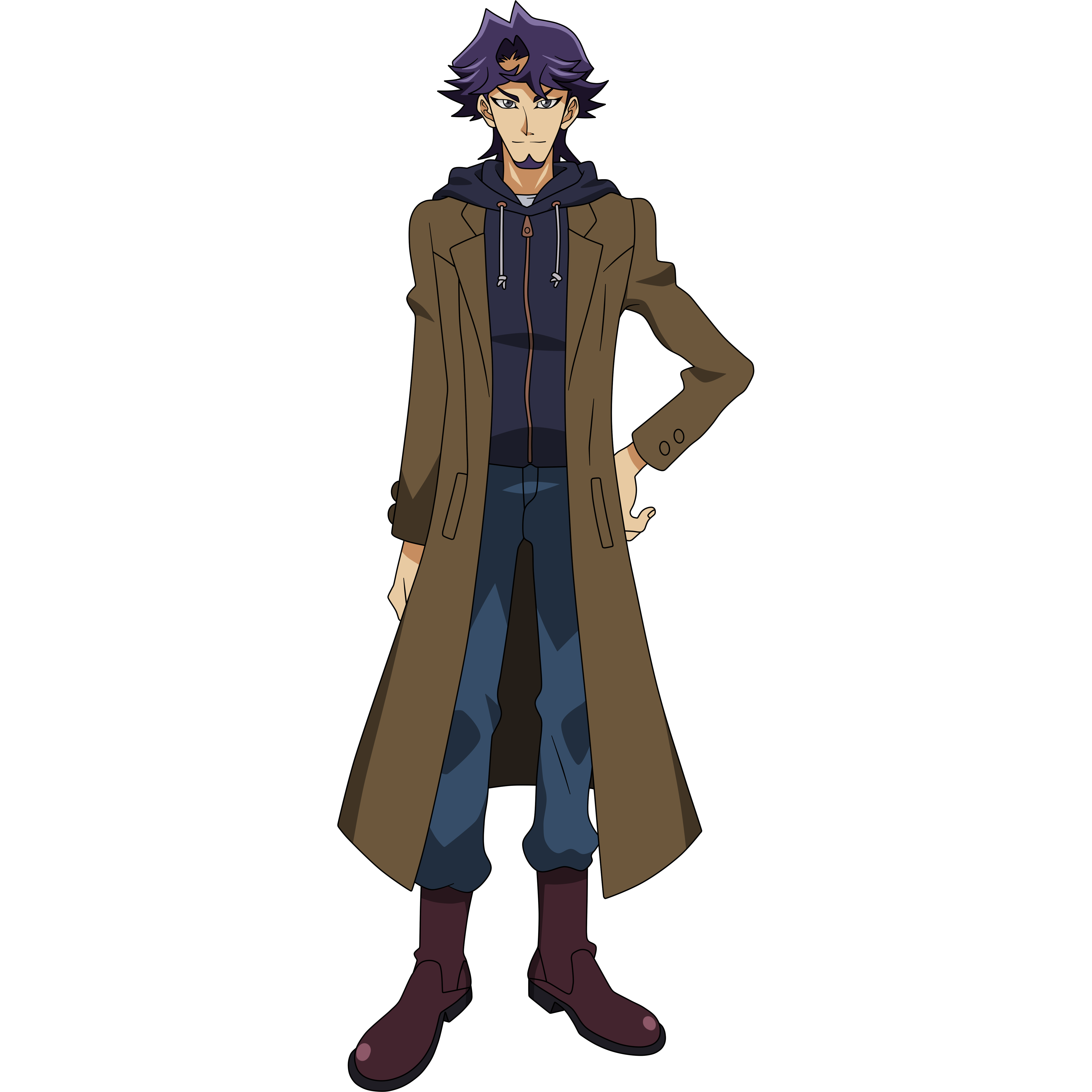 Yugioh Character Design : Kusanagi shouichi yu gi oh vrains image