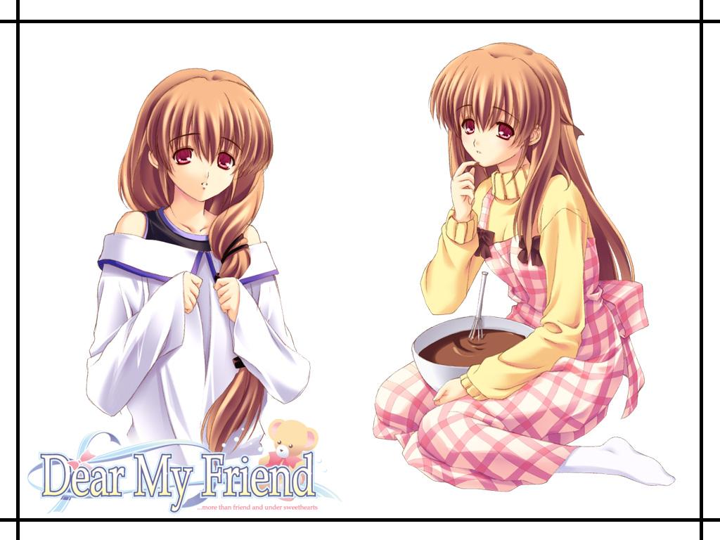 Kushiro Mai Dear My Friend Wallpaper 34842 Zerochan Anime