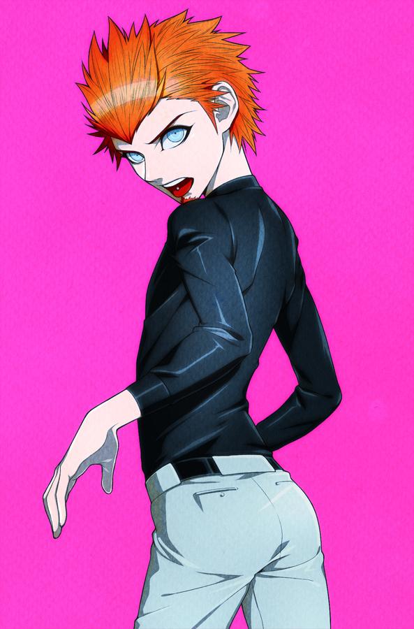 Tags: Anime, Pixiv Id 22310, Danganronpa, Kuwata Leon, Pixiv, Fanart, Fanart From Pixiv