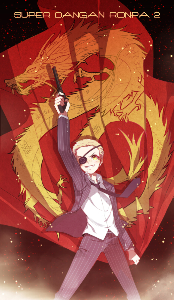 Kuzuryuu Fuyuhiko Super Danganronpa 2 Zerochan Anime
