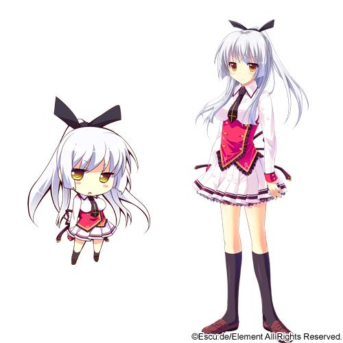 Tags: Anime, Shiramochi Sakura, Escu:de, Hanayome to Maou ~Oushitsu no Harem wa Gekokujou~, Kuzuryuu Tooko, Official Art, Cover Image