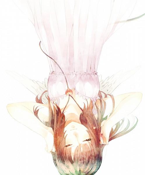 Tags: Anime, Kyama, White Wings, Upside Down