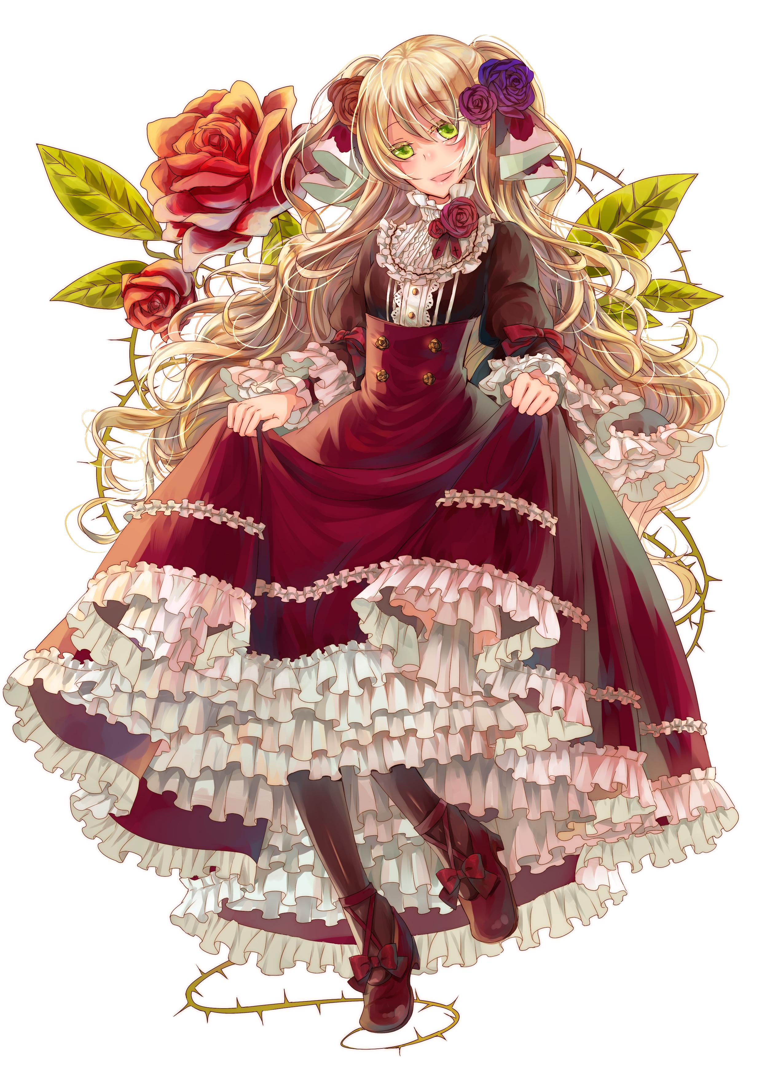 Anime Victorian Hair
