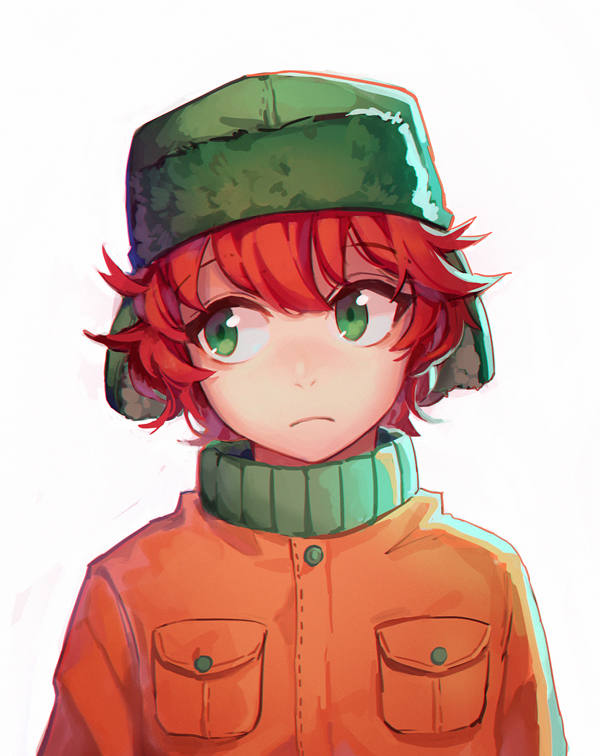 Tags: Anime, Soulnightwish, South Park, Kyle Broflovski, Ushanka, Fanart, Tumblr