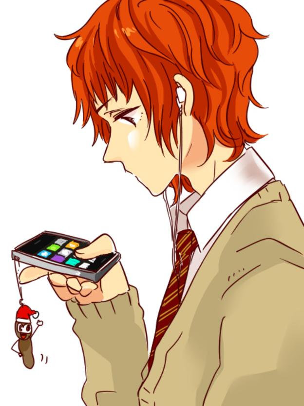Tags: Anime, South Park, Mr. Hankey, Kyle Broflovski, iPhone, Artist Request