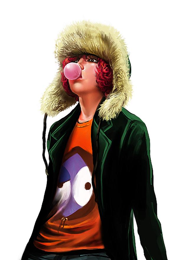 Tags: Anime, Pixiv Id 851330, South Park, Kyle Broflovski, Pixiv, Mobile Wallpaper, Fanart