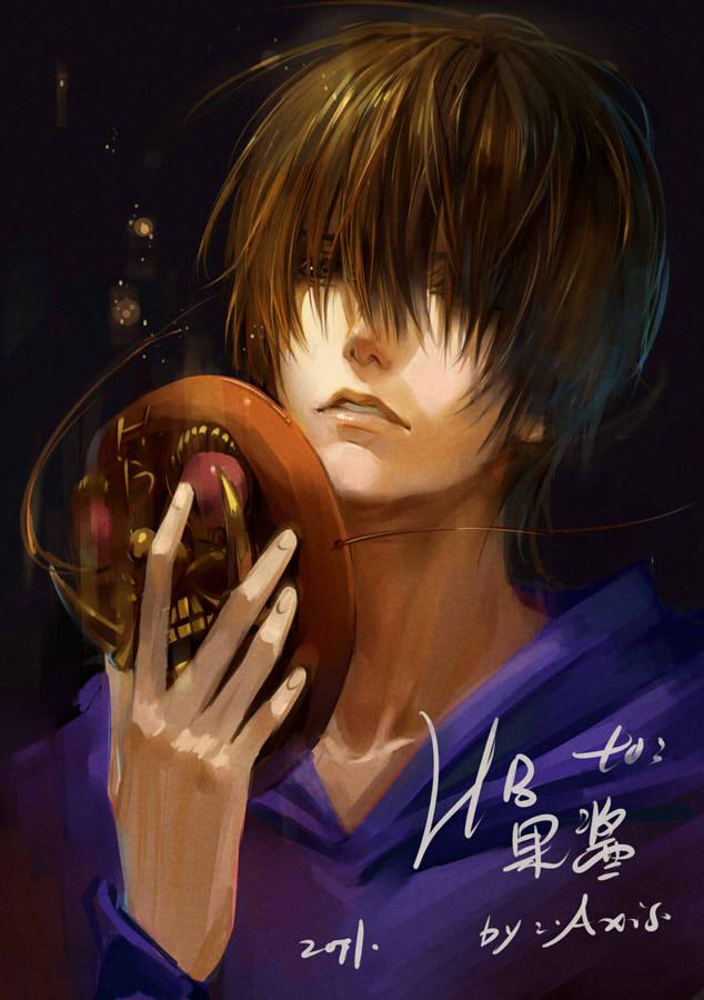 Tags: Anime, .Axis., Daomu, Kylin Zhang, Oni Mask, Mobile Wallpaper, Pixiv, Fanart