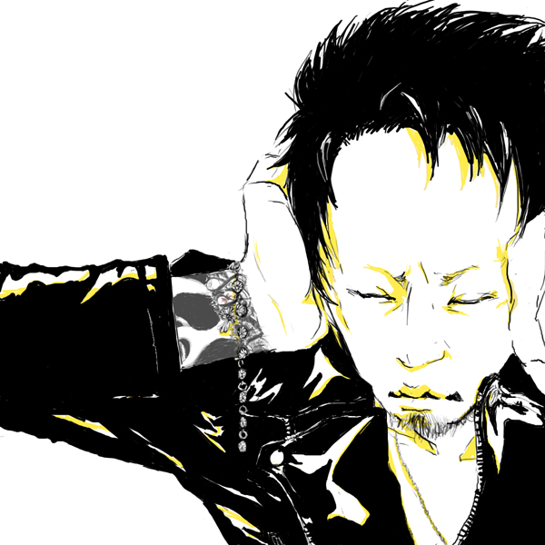 Tags: Anime, Kyo (Dir En Grey), Leather Jacket, DIR EN GREY