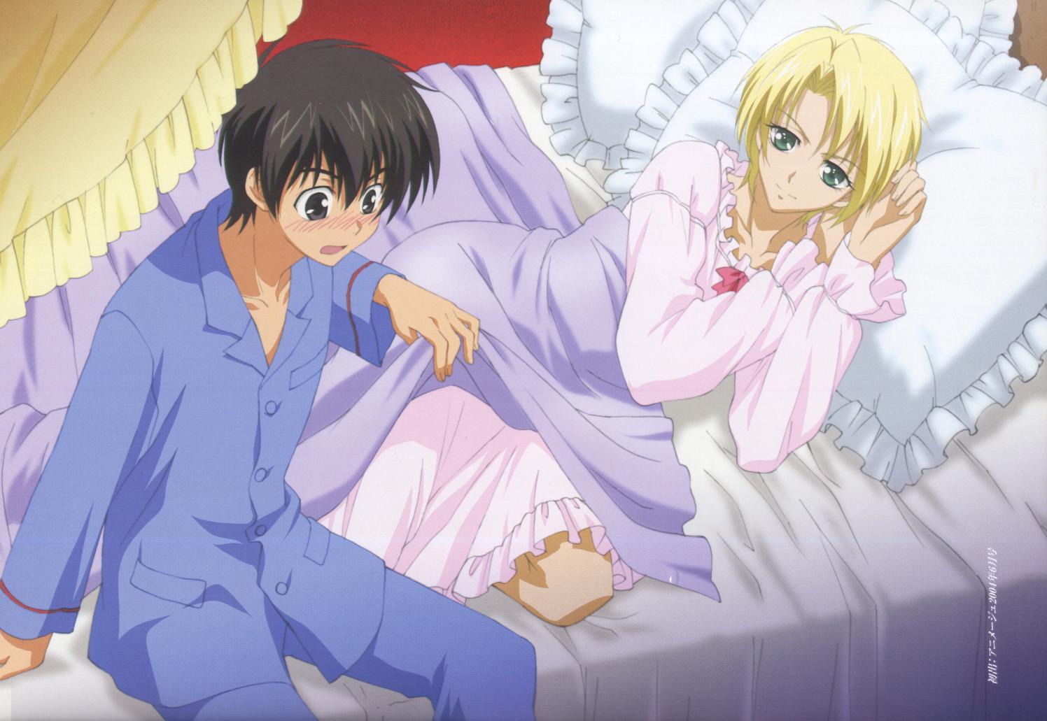 crossdressing anime