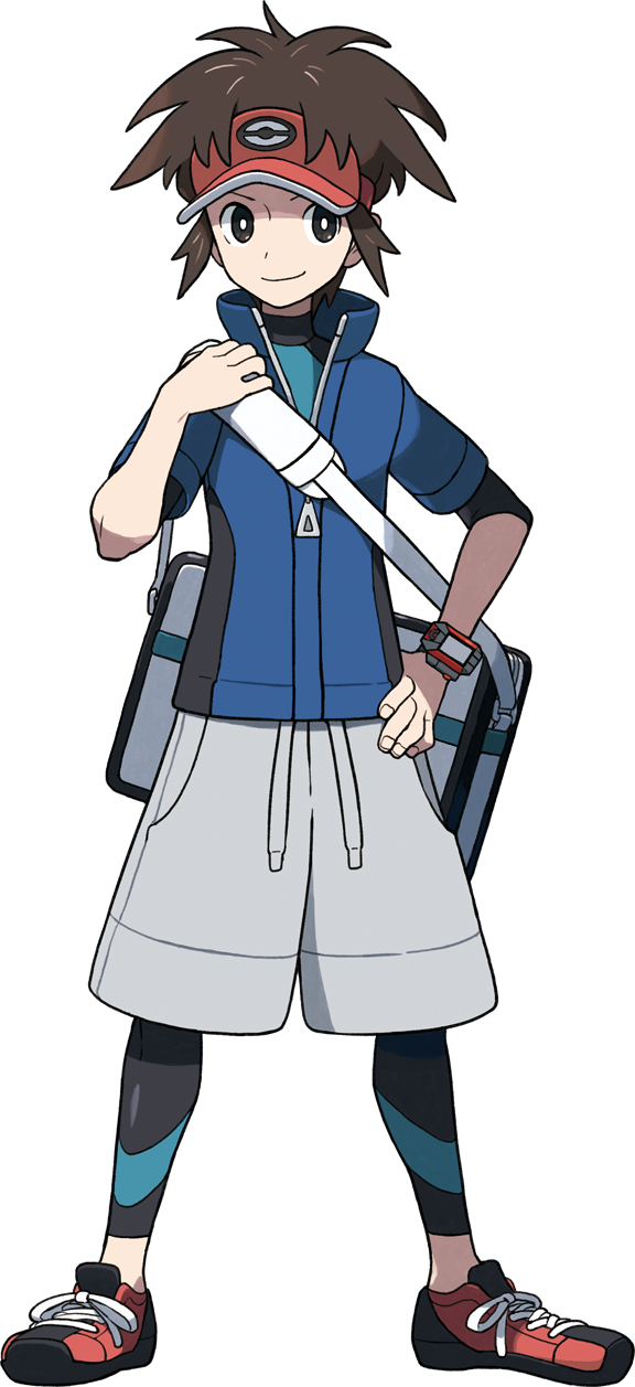 Tags: Anime, Oomura Yusuke, GAME FREAK, Nintendo, Pokémon, Kyouhei, Gray Shorts, PNG Conversion, Official Art, Cover Image