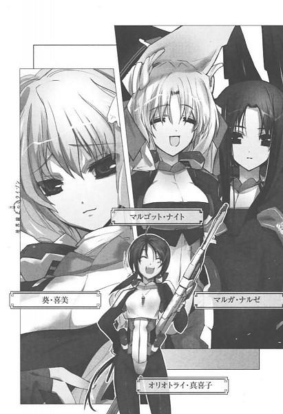 Tags: Anime, Satoyasu, Kyoukai Senjou no Horizon, Naruze Malga, Oriotorai Makiko, Aoi Kimi, Margot Knight