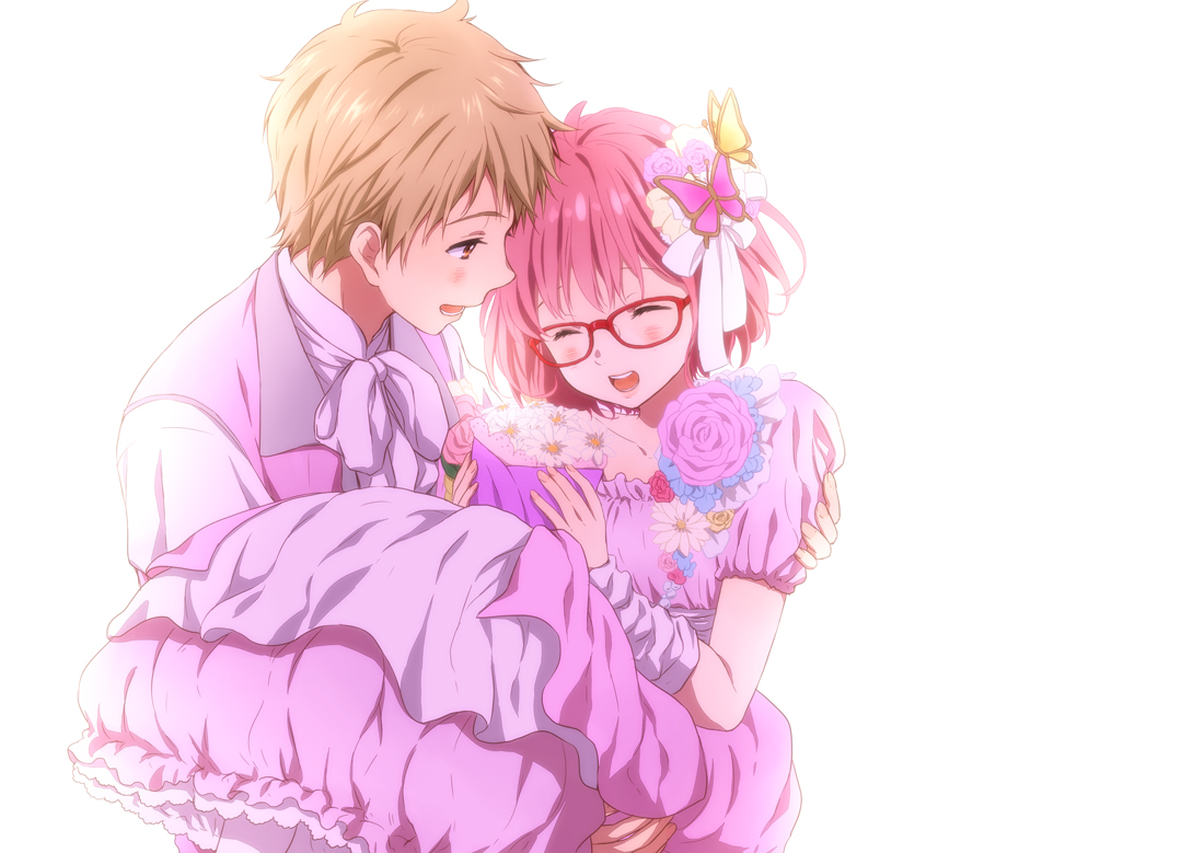 Google theme kyoukai no kanata