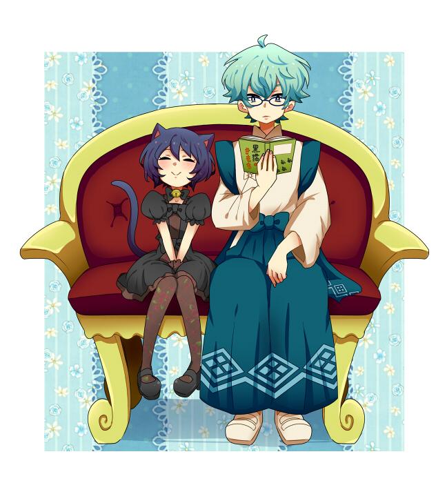 Tags: Anime, Pixiv Id 6155063, Kyoukai no Rinne, Suzu (Kyoukai no Rinne), Kain (Kyoukai no Rinne), Shinigami