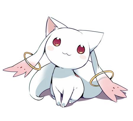 Tags: Anime, Mizuki (Koko Lost), Mahou Shoujo Madoka☆Magica, Kyubee, :3