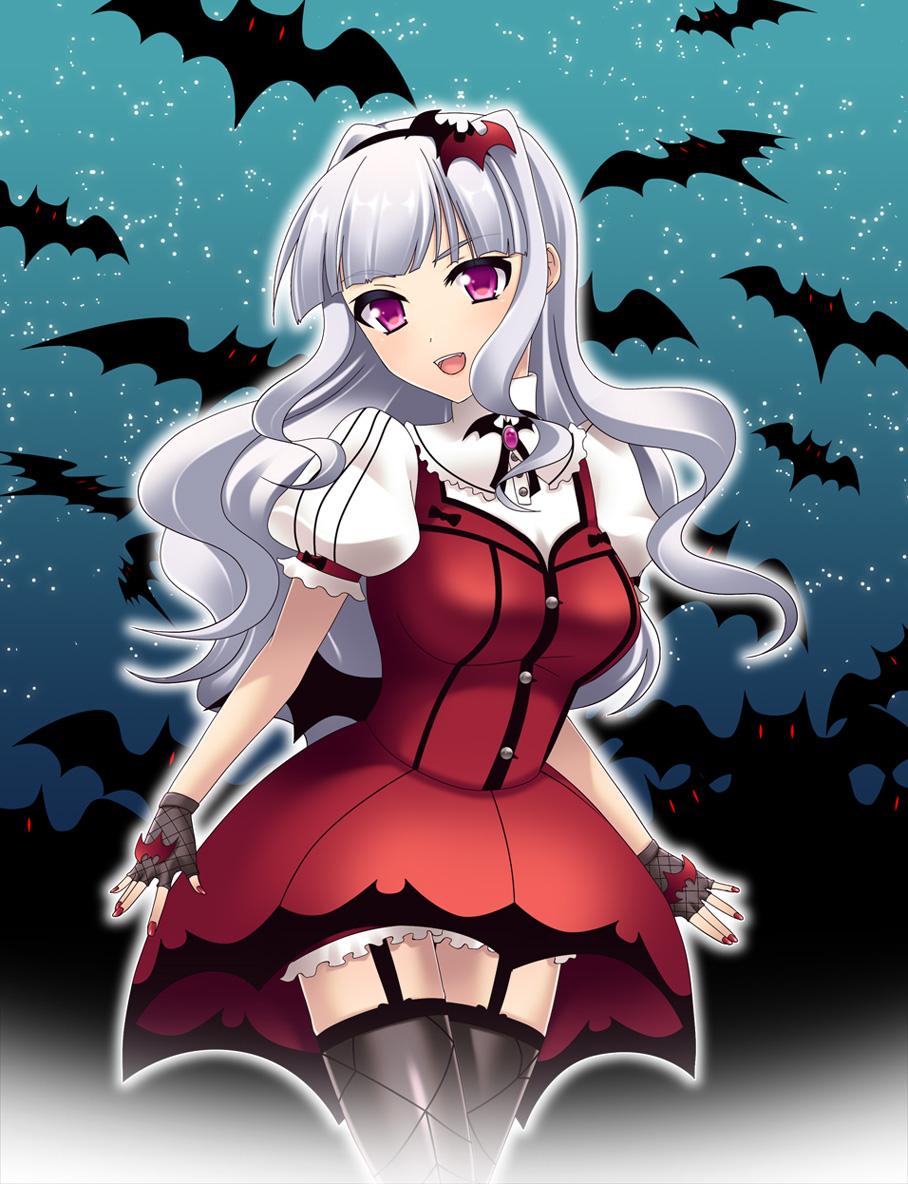 Ilmu Pengetahuan 9: Anime Vampire Girl With Red Hair