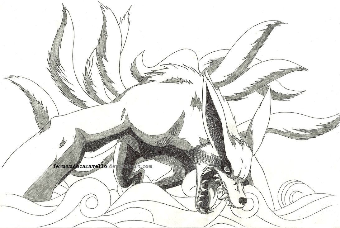 Kyuubi (NARUTO) (Nine Tailed Fox) - Zerochan Anime Image Board