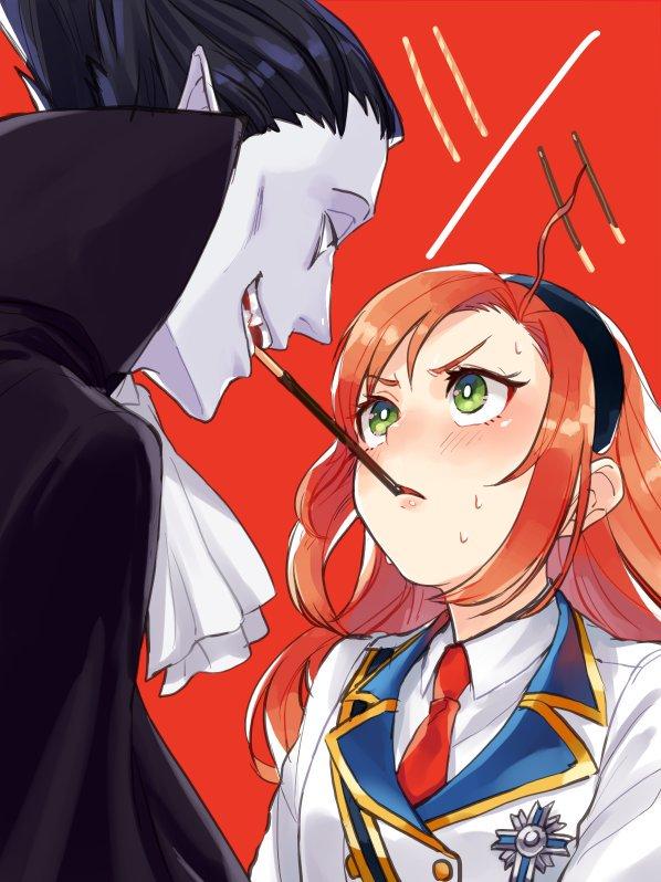 Tags: Anime, Pixiv Id 21083545, Kyuuketsuki Sugu Shinu, Hinaichi, Draluc, Fanart From Pixiv, Pixiv, Fanart, The Vampire Dies In No Time.