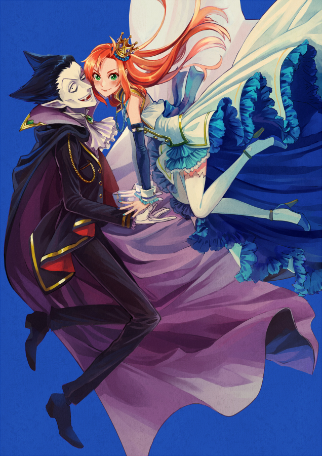 Tags: Anime, Pixiv Id 21083545, Kyuuketsuki Sugu Shinu, Hinaichi, Draluc, Fanart, Fanart From Pixiv, Pixiv, The Vampire Dies In No Time.