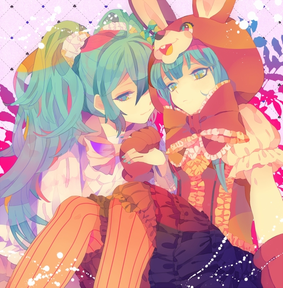 Tags: Anime, Yumenouchi, VOCALOID, Hatsune Miku, LOL -lots of laugh-, Pixiv, Fanart From Pixiv, Fanart