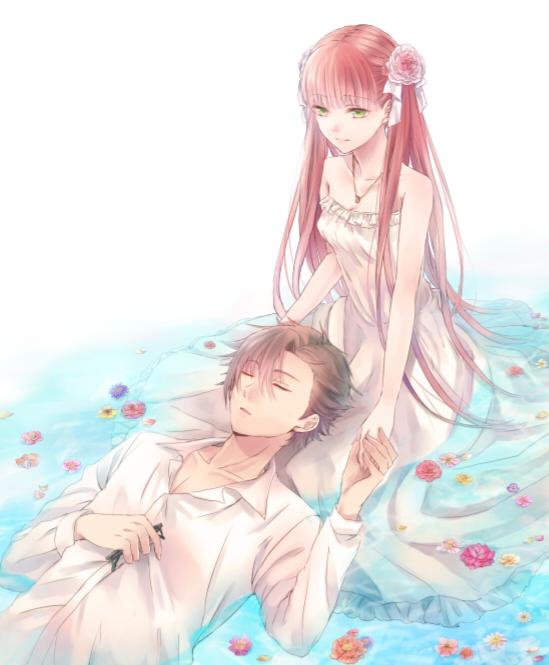 Tags: Anime, Murasaki (Annei), La storia della Arcana Famiglia, Felicita, Pace, Sitting In Water, Fanart