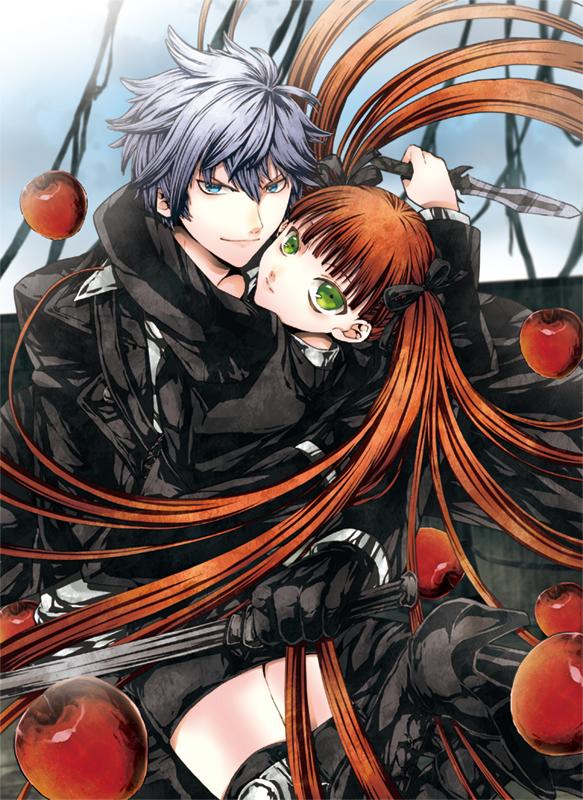 Tags: Anime, Ruku (Ruku 5050), HuneX, La storia della Arcana Famiglia, Ash (Arcana Famiglia), Felicita, Mobile Wallpaper