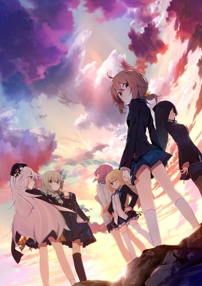 Lack Girl Mobile Wallpaper 2026790 Zerochan Anime Image Board