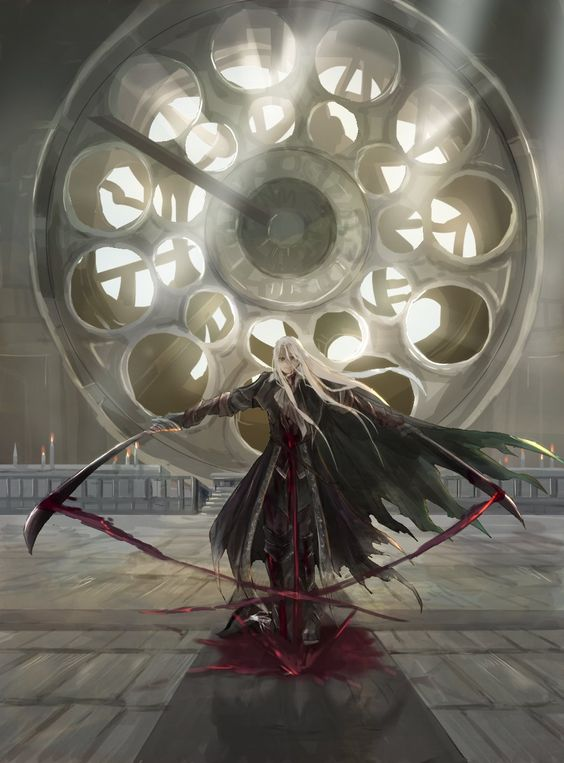 Tags: Anime, Bloodborne, Bloodborne: The Old Hunters, Lady Maria of the Astral Clocktower, Artist Request