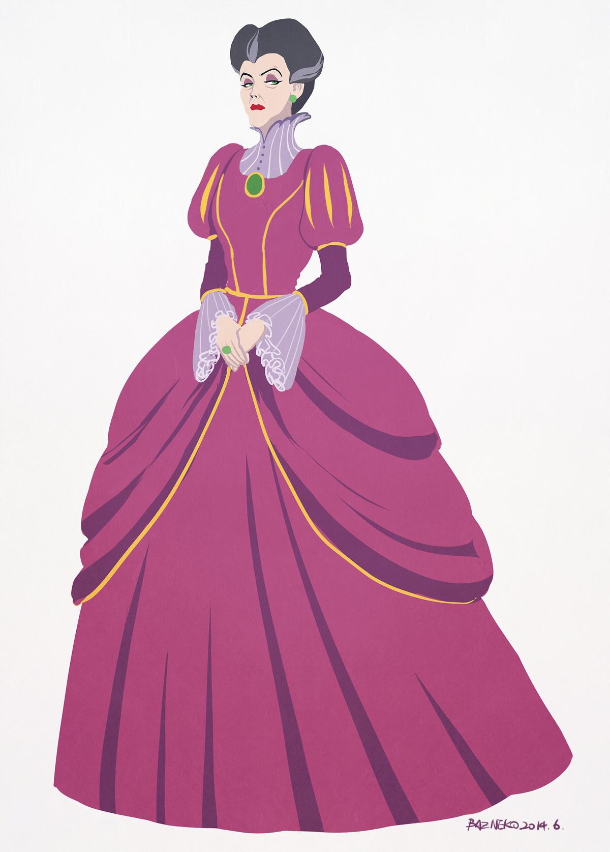 Lady Tremaine - Cinderella - Image #2186122 - Zerochan Anime Image Board