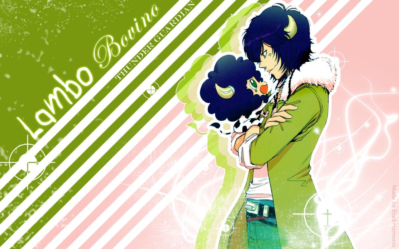 Lambo Katekyo Hitman Reborn Wallpaper 632921 Zerochan Anime Image Board