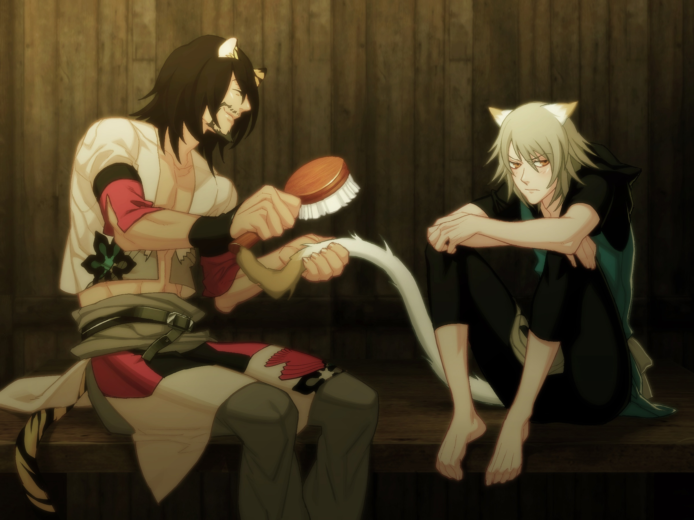 Lamento Beyond the Void Visual Novel bardo