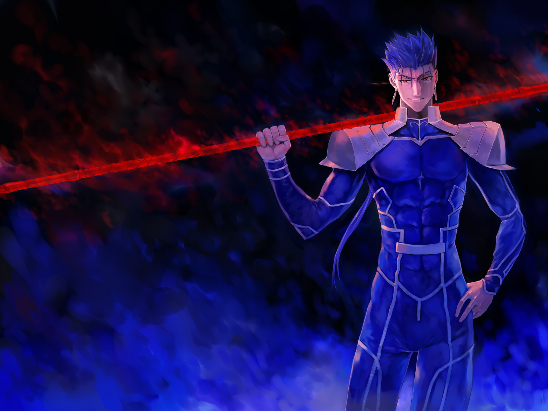 Lancer Fate Stay Night Wallpaper 1785574 Zerochan Anime Image