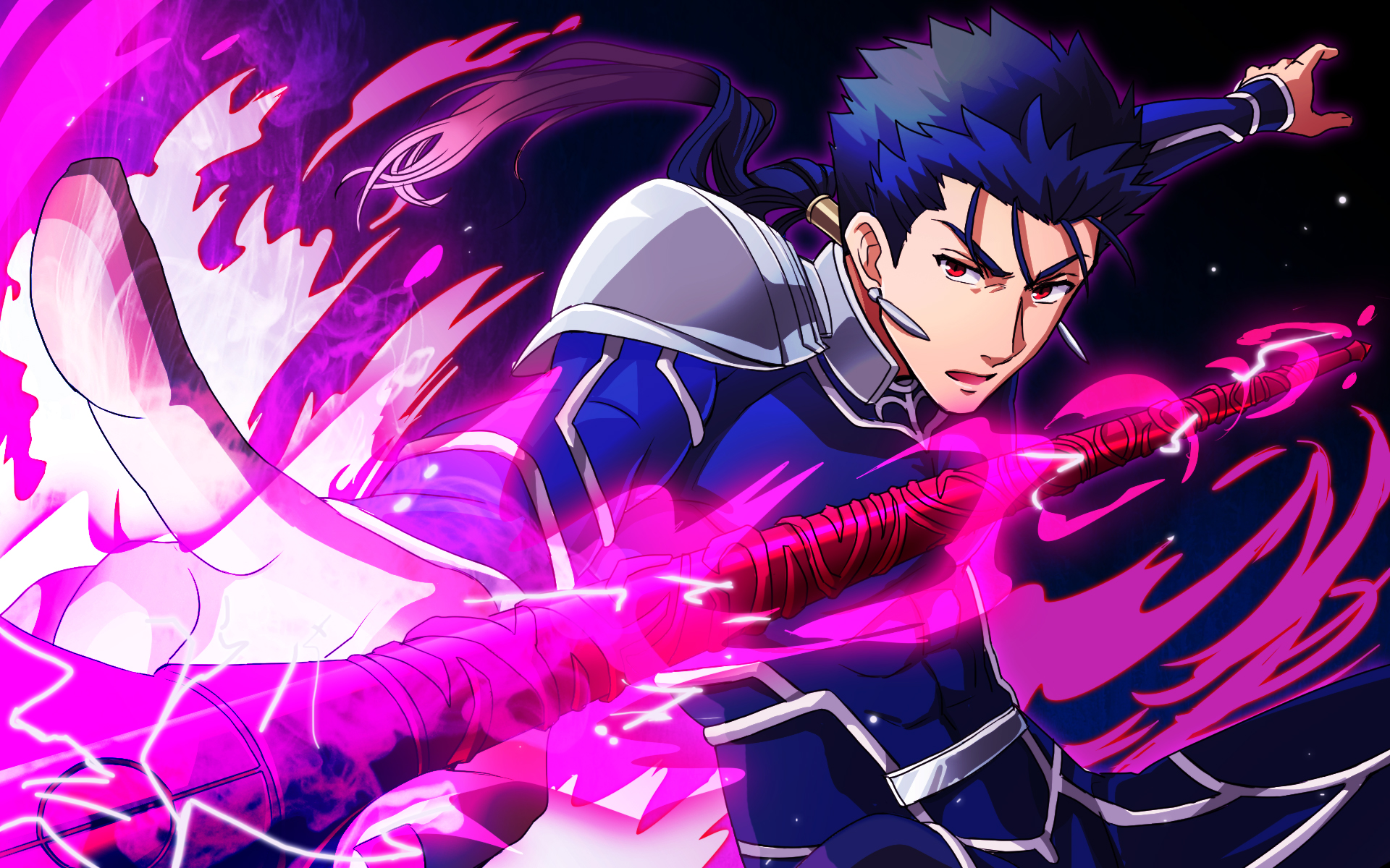 lancer (fate/stay night) wallpaper #1869131 - zerochan anime image board