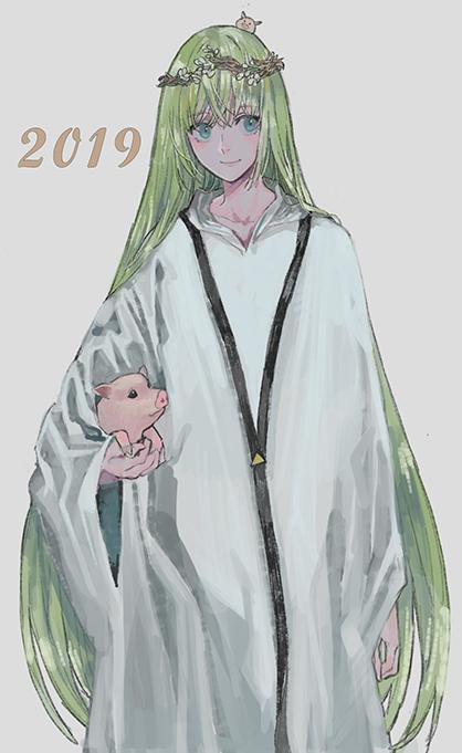Tags: Anime, Pixiv Id 6124030, Fate/Grand Order, Lancer (Fate/strange fake), Pixiv, Fanart, Fanart From Pixiv