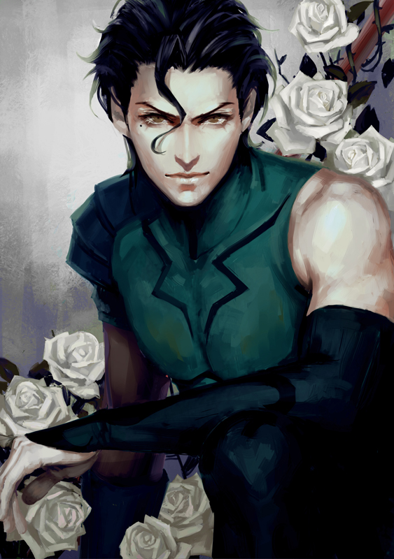 Tags: Anime, Jun Du, Fate/zero, Lancer (Fate/zero), Mobile Wallpaper