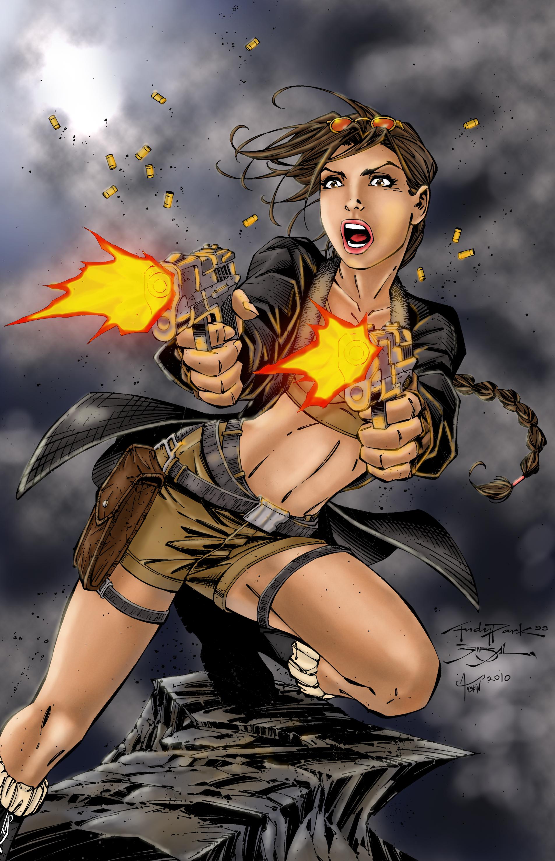 Lara Croft - Tomb Raider - Image #603667 - Zerochan Anime