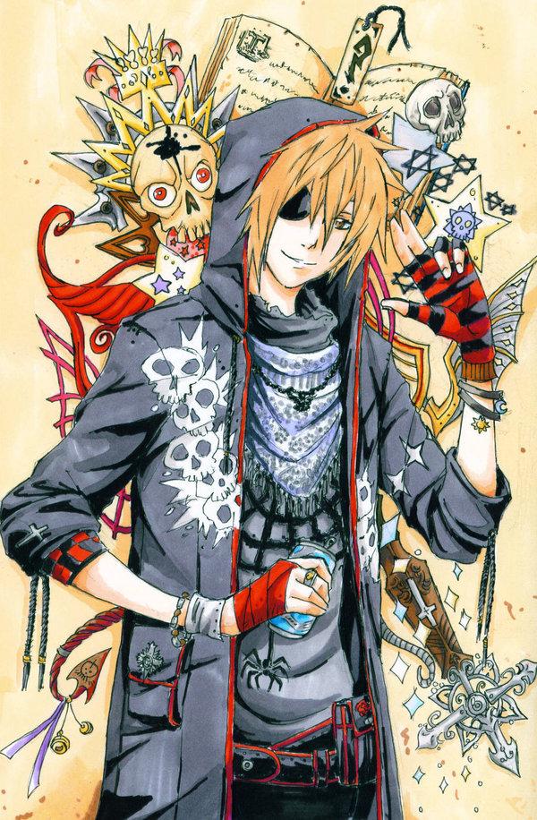 Tags: Anime, D.Gray-man, Lavi, Punk, Mobile Wallpaper, Artist Request