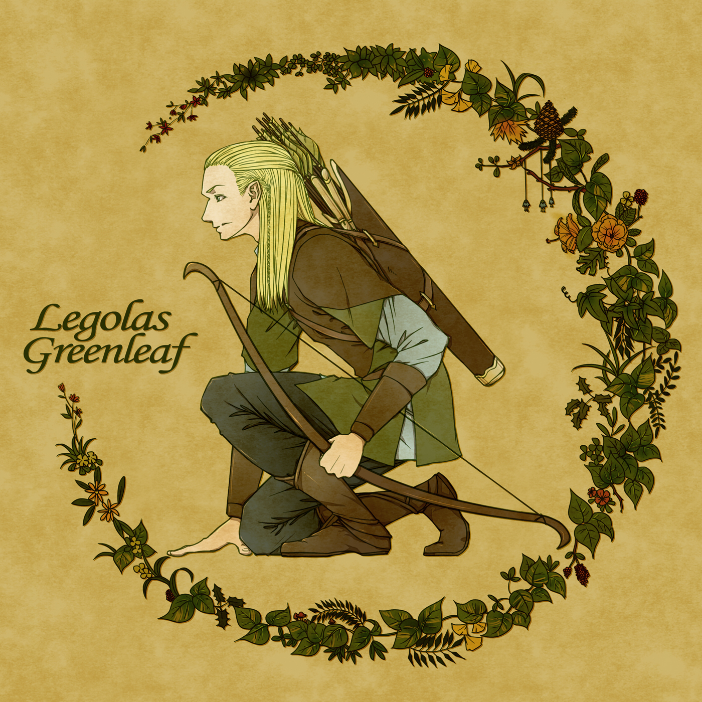 Legolas what did your elf eyes see
