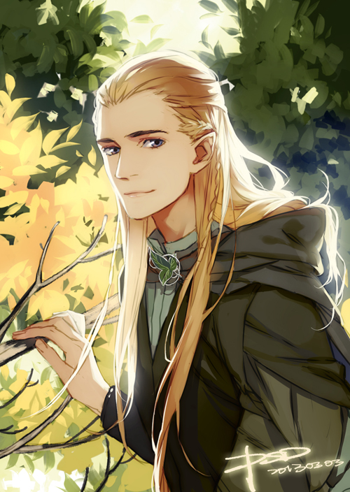 Tags: Anime, PSD, The Lord of the Rings, Legolas, Fanart From Pixiv, Fanart, Pixiv, Mobile Wallpaper
