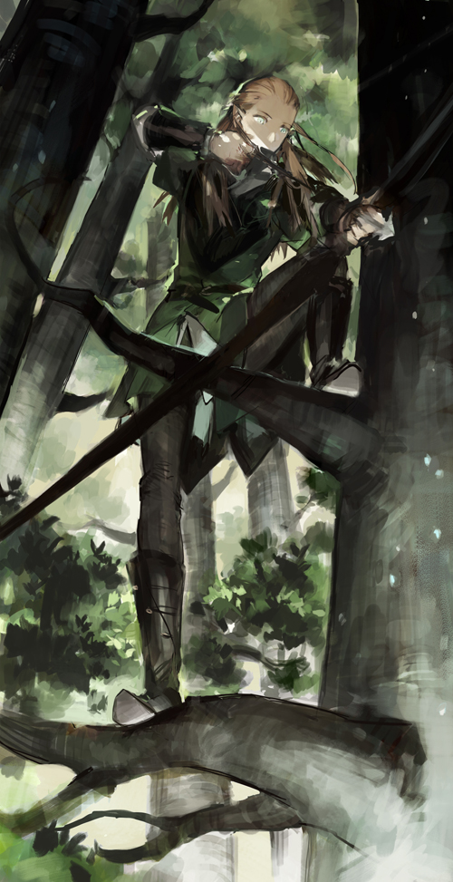 Tags: Anime, STAR Shadow Magician, The Lord of the Rings, Legolas, Fanart, Pixiv, Fanart From Pixiv