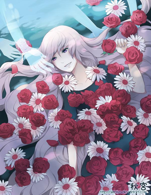 Tags: Anime, Akimiya, VOCALOID, Megurine Luka, Yuyoyuppe, Leia, deviantART