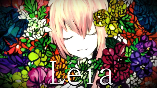 Tags: Anime, Meola, VOCALOID, Megurine Luka, Facebook Cover, Leia, Fanart, Pixiv