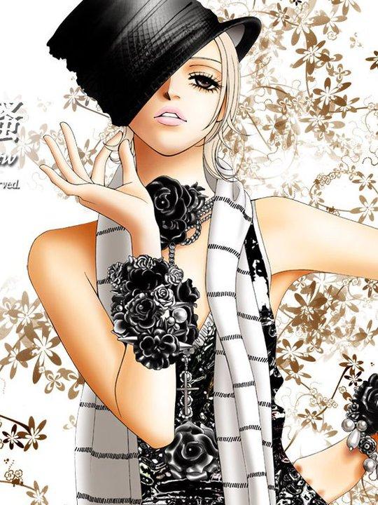 Tags: Anime, The One, Lele Cane, Model, Black Flower, Lip Gloss