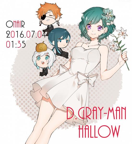 Tags: Anime, Pixiv Id 10034758, D.Gray-man, Allen Walker, Lenalee Lee, Kanda Yuu, Lavi