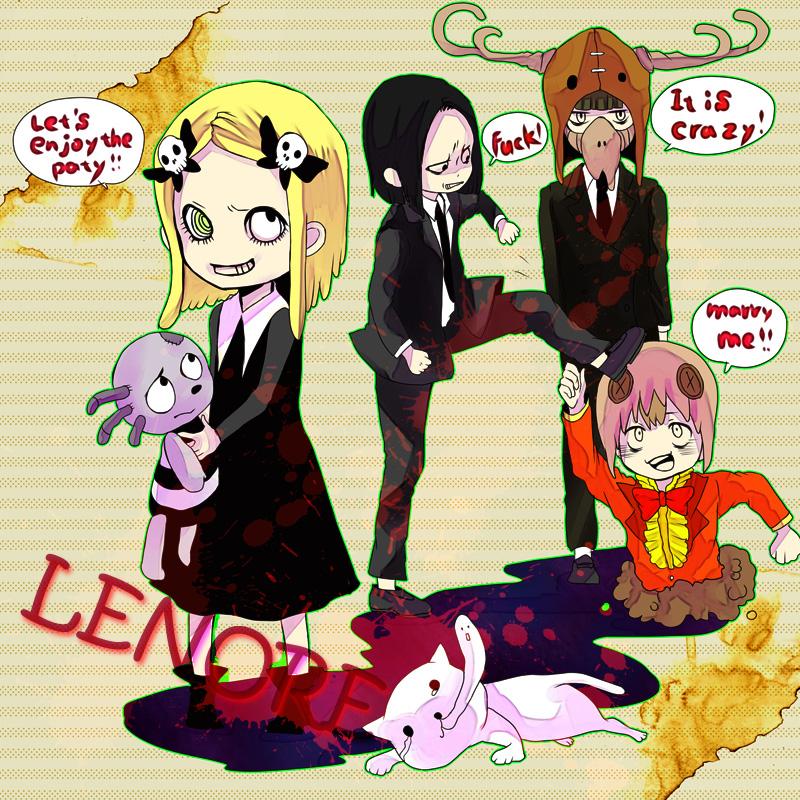 Lenore The Cute Little Dead Girl Comic
