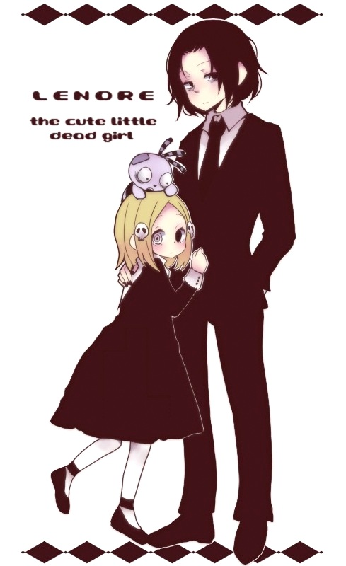 Tags: Anime, Pixiv Id 3240660, Lenore: The Cute Little Dead Girl, Lenore, Ragamuffin, Mobile Wallpaper