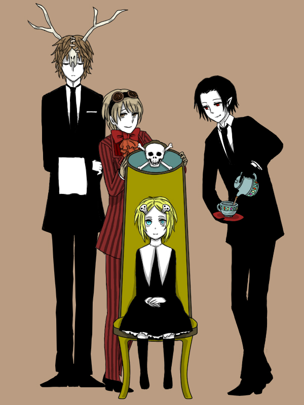 Tags: Anime, mairu, Lenore: The Cute Little Dead Girl, Taxidermy, Mr. Gosh, Ragamuffin, Lenore, Pixiv