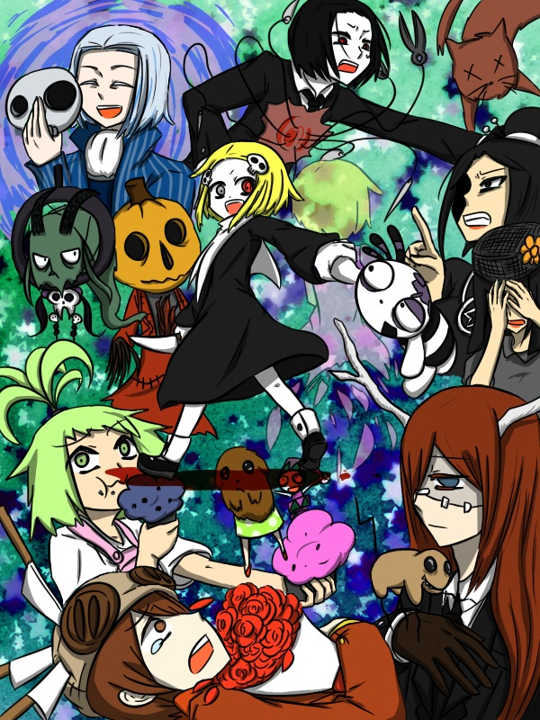 Tags: Anime, Lenore: The Cute Little Dead Girl, Muffin Monster, Felicia (Lenore), Lenore, Death (Lenore), Taxidermy, The Witch (Lenore), Mr. Gosh, Spam Witch, Kitty (lenore), Dream Catcher, Malakai